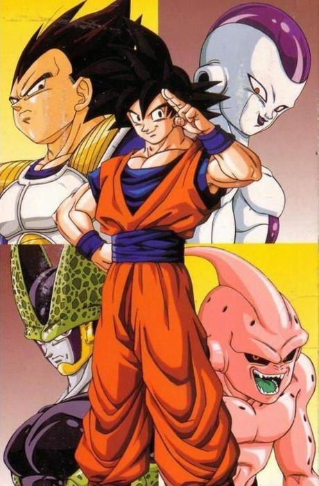 Son Goku Vs Dbz Villains Dragon Ball Z Fotografia 34918182