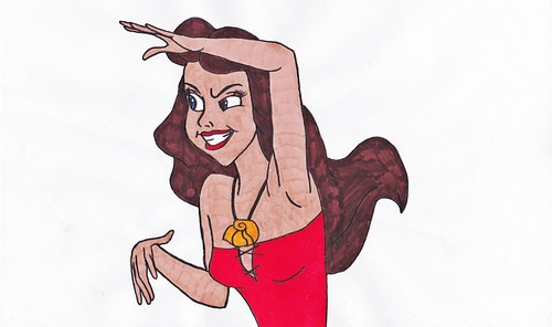 Walt disney fan Art - Vanessa