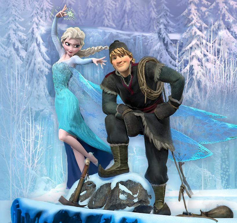 Elsa and Kristoff - Frozen Photo (35007303) - Fanpop