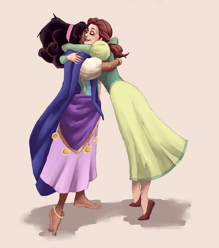 Esmeralda and Belle