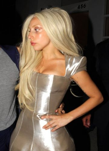 Gaga leaving ARTPOP hapunan (July 11)