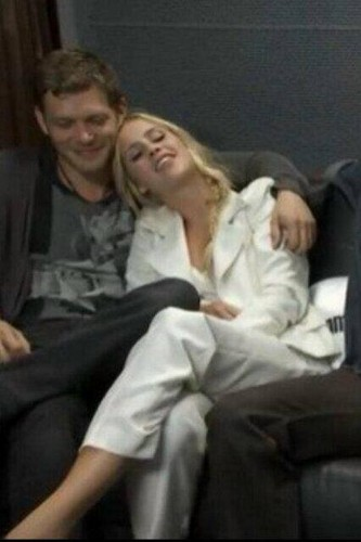 Joseph Morgan & Claire Holt - Comic Con 2013