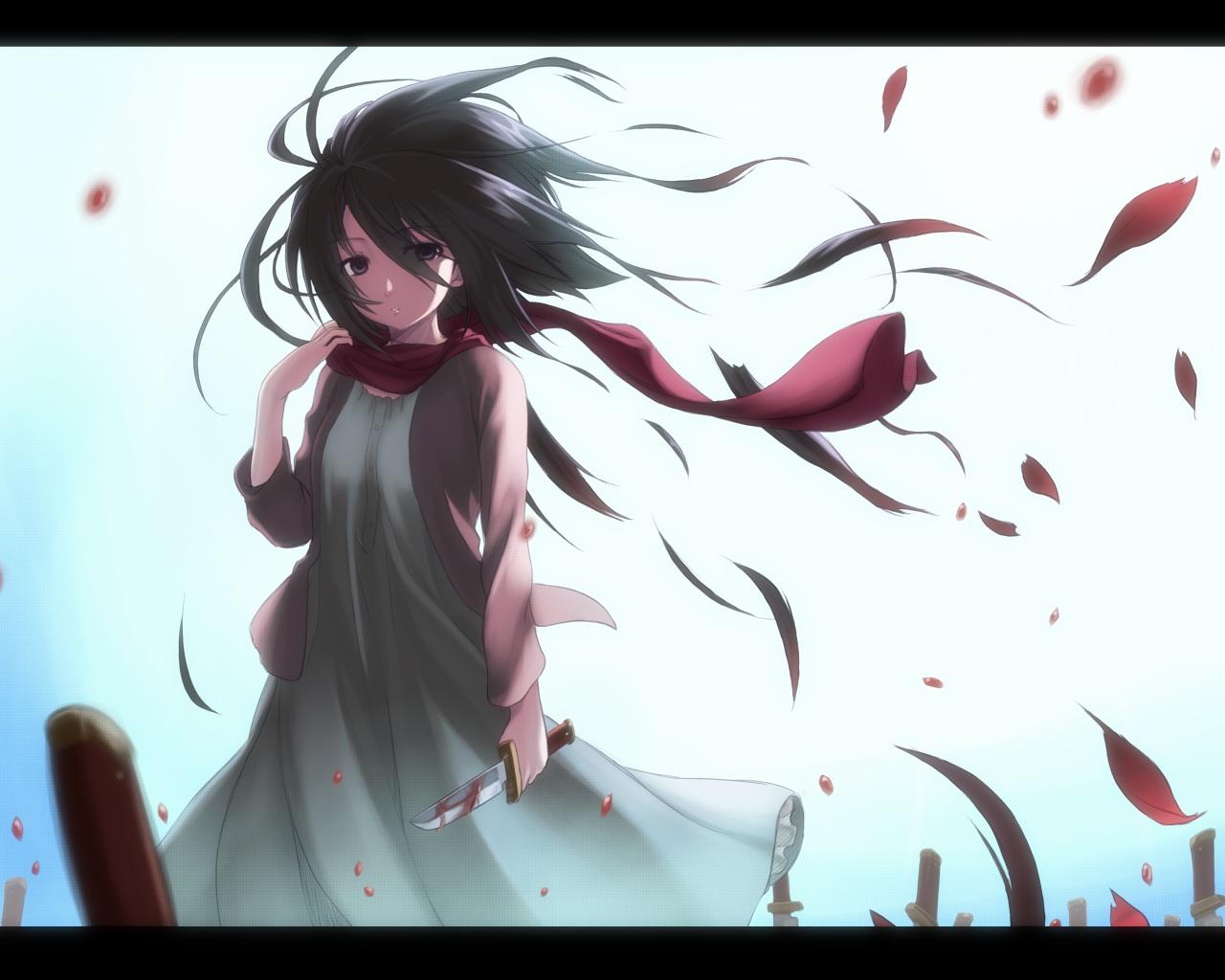 Mikasa Shingeki No Kyojin Attack On Titan Hinh Nền 35082056 Fanpop