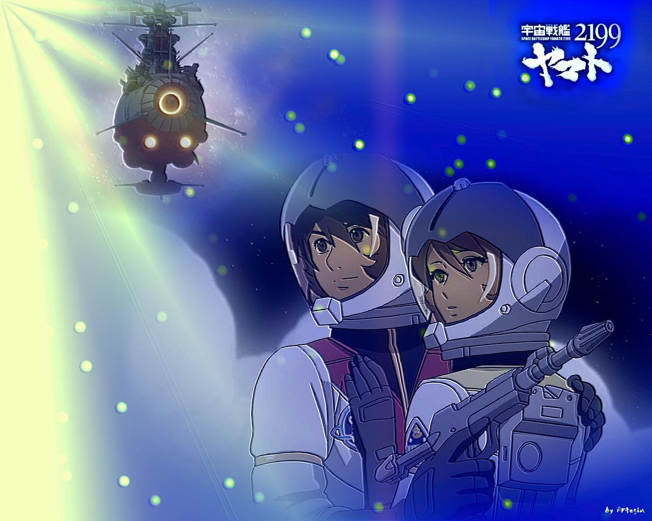 Uchuu Senkan Yamato 2199 Space Battleship Yamato Wallpaper