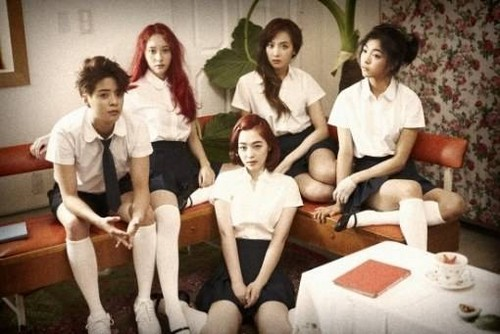f(x) new group and individual teaser 照片