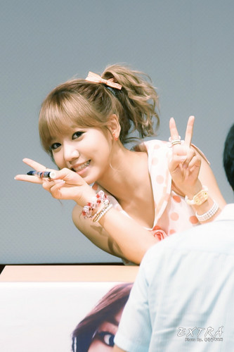 130728 Namjoo at Busan Fansigning Event