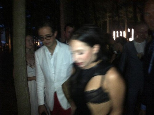 Lady Gaga At Watermill Benefit Auction (July 27)
