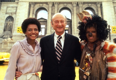 "Behind The Scenes In Making Of ""The Wiz"""
