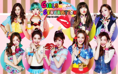 Girls Generation/SNSD!<3 (My fave K-pop group)