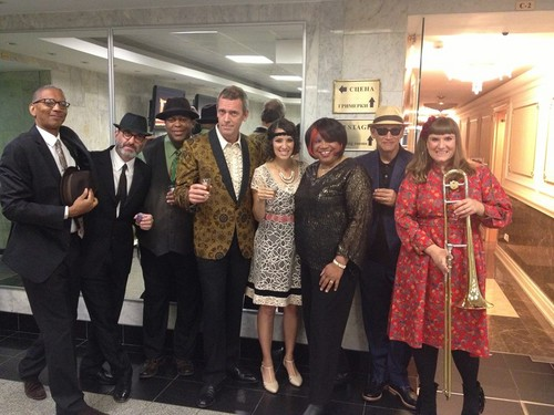 Hugh Laurie & The Copper Bottom Band. july 2013