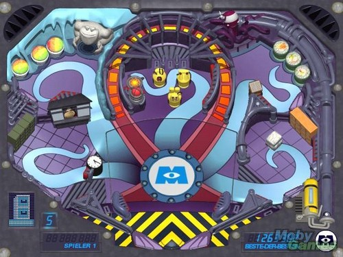 Monsters Inc.: Pinball Panic Mini Game