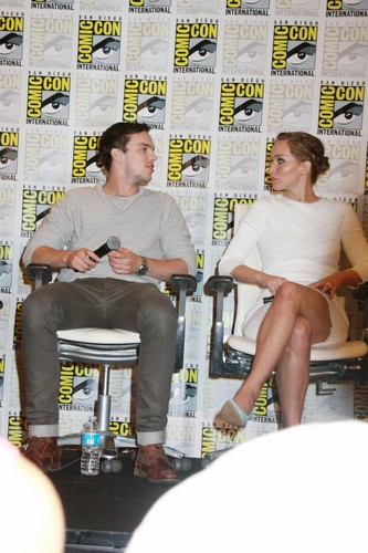 Nicholas and Jen at Comic-Con 2013