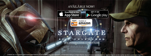 Stargate SG-1: Unleashed for mobile