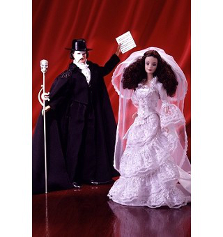 The Phantom of the Opera Barbie Puppen