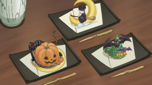 These look too Halloweenish to be eaten