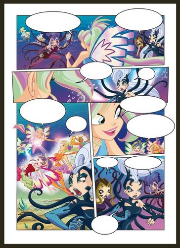 Winx magazine pages