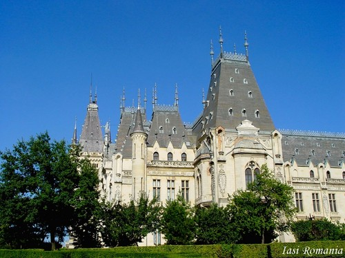Iasi Romania Palace of Culture Eastern Eropah cities