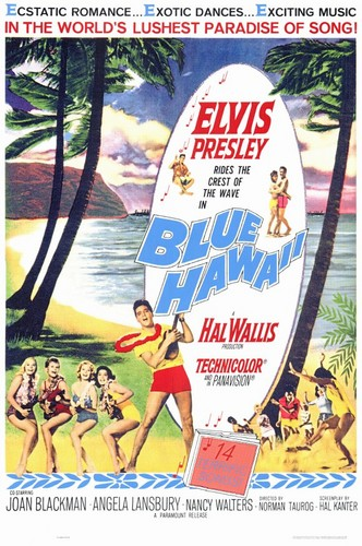 Blue Hawaii | Poster ಇ