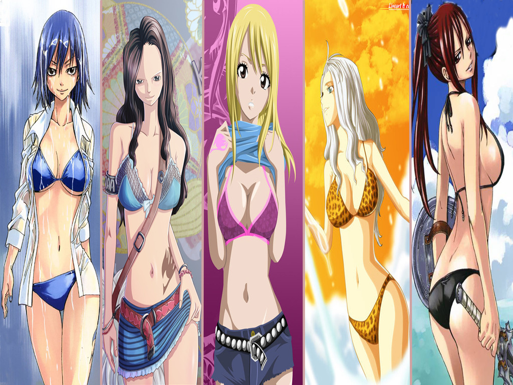 Fairy Tail Girls 3 The Fairy Tail Guild Wallpaper 35202596