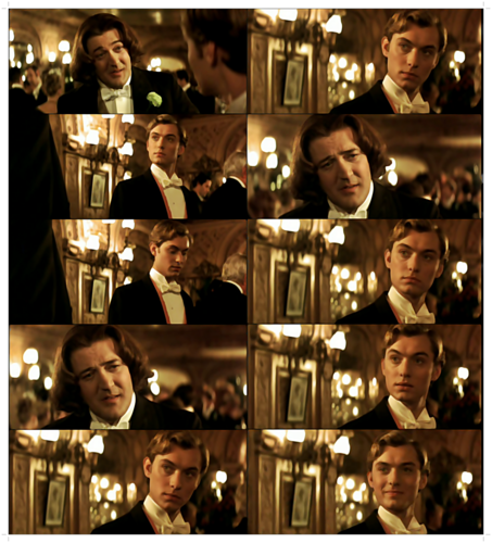 "Jude as Bosie Douglas in ""Wilde"""