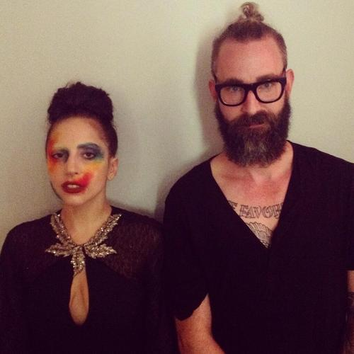 Lady Gaga and DJ White Shadow