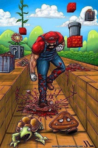 Mario grown up.