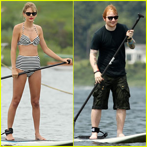 Taylor Swift: Bikini Paddleboarding with Ed Sheeran!