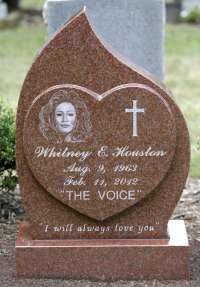 The Gravesite Of Whitney Houston
