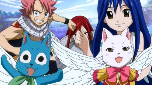 Fairy Tail Best Screenshoots on the net