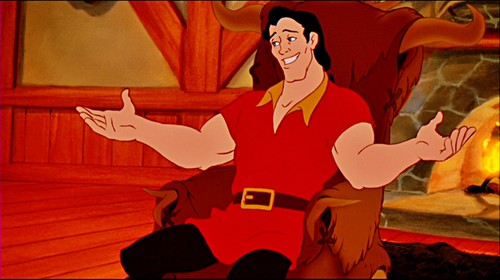 Walt Disney Screencaps - Gaston