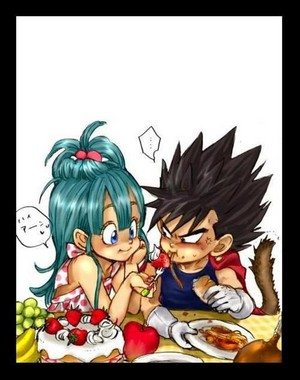 Kid Vegeta X Little Bulma