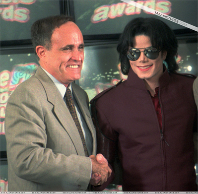 Michael And Former Mayor, Rudolph Guilliani