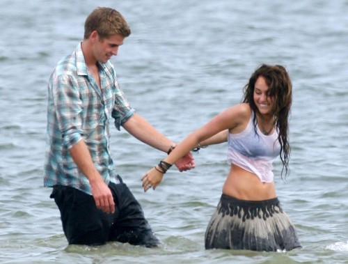 Miley & Liam (older pics)