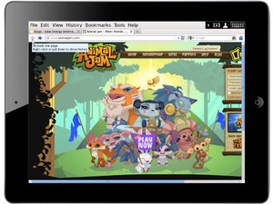 Proof you can play Animal Jam on the iPad on some apps