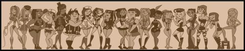 Total Drama Girls