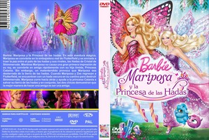 바비 인형 mariposa & the fairy princess dvd latino