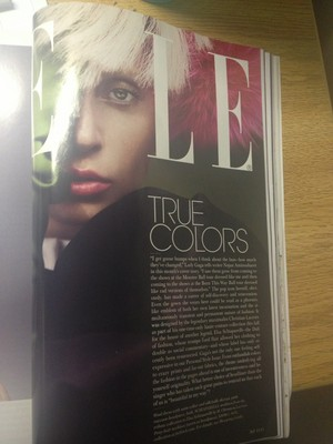 (LQ) Gaga's October 2013 Elle US Spread by Ruth Hogben
