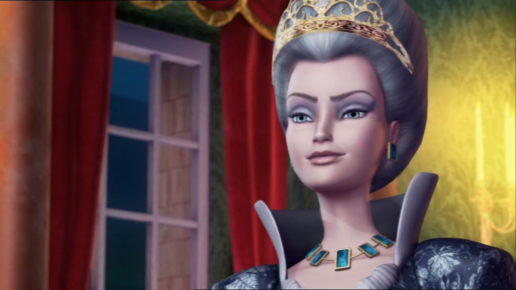 A still from Barbie and the 12 Dancing Princesses