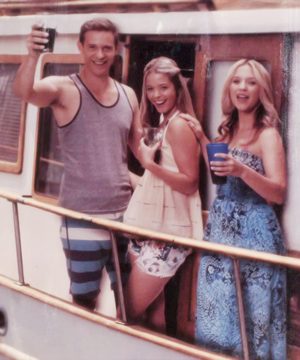 Alison, Darren and CeCe
