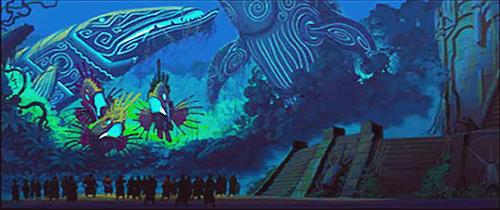 Disney Atlantis Art