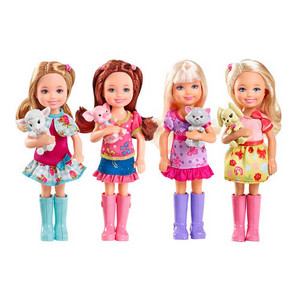 Barbie and her sisters in a Ponytale(New Characters!)