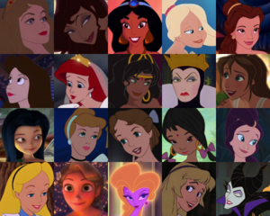 BraBrief's topo, início 20 Of disney Prettiest Animated Females