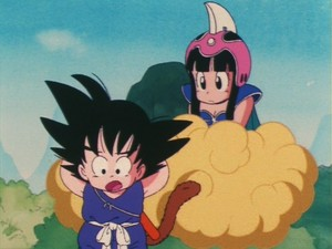 Chichi and goku - First Meeting (Screenshots)