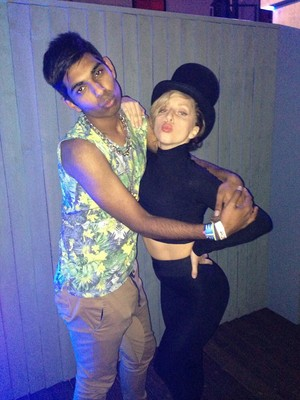 Gaga Backstage At Roundhouse In লন্ডন (Sept. 1)