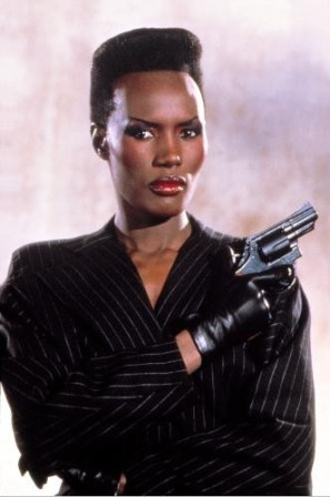 "Grace Jones (May Day) 1985 Bond Film, ""A View To A Kill"""