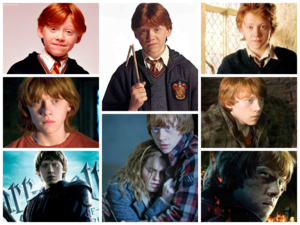 Harry Potter Characters Evolution