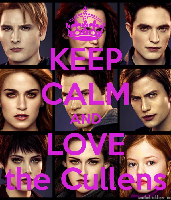Keep calm and amor Twilight