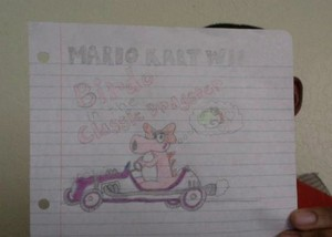 My Mario Kart Wii Drawings