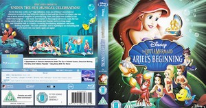 The Little Mermaid: Ariel's Beginning - UK Blu-Ray Cover Art
