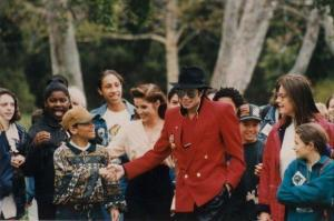 1995 Children's Summitt At Neverland Back In 1995